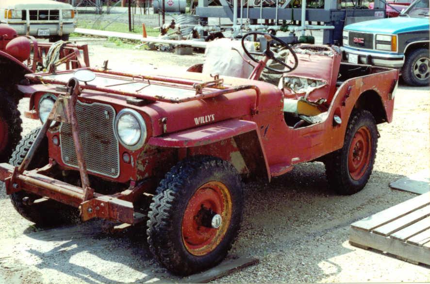 1946 Cj 2 Willys Jeep Column Shift