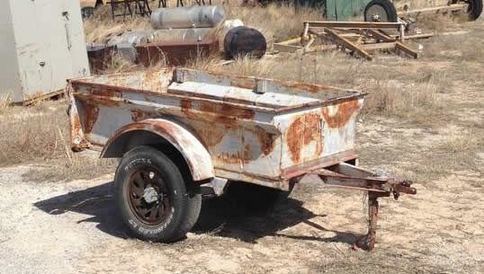 bantam jeep trailers