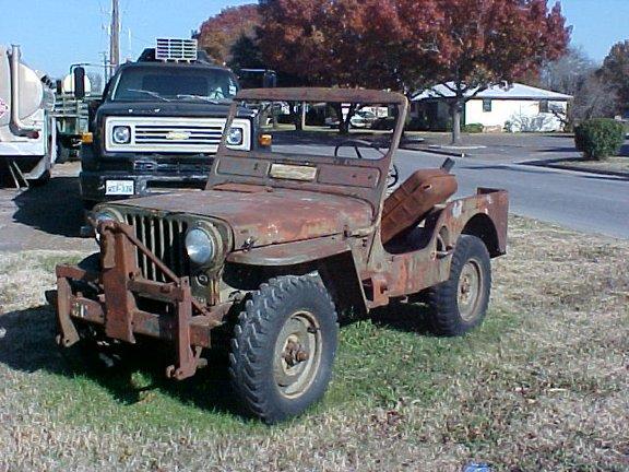 M38 Willys Jeep Iowa