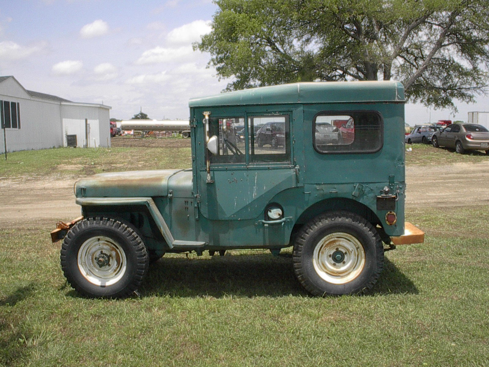 M38 Willys Jeep Artic Top
