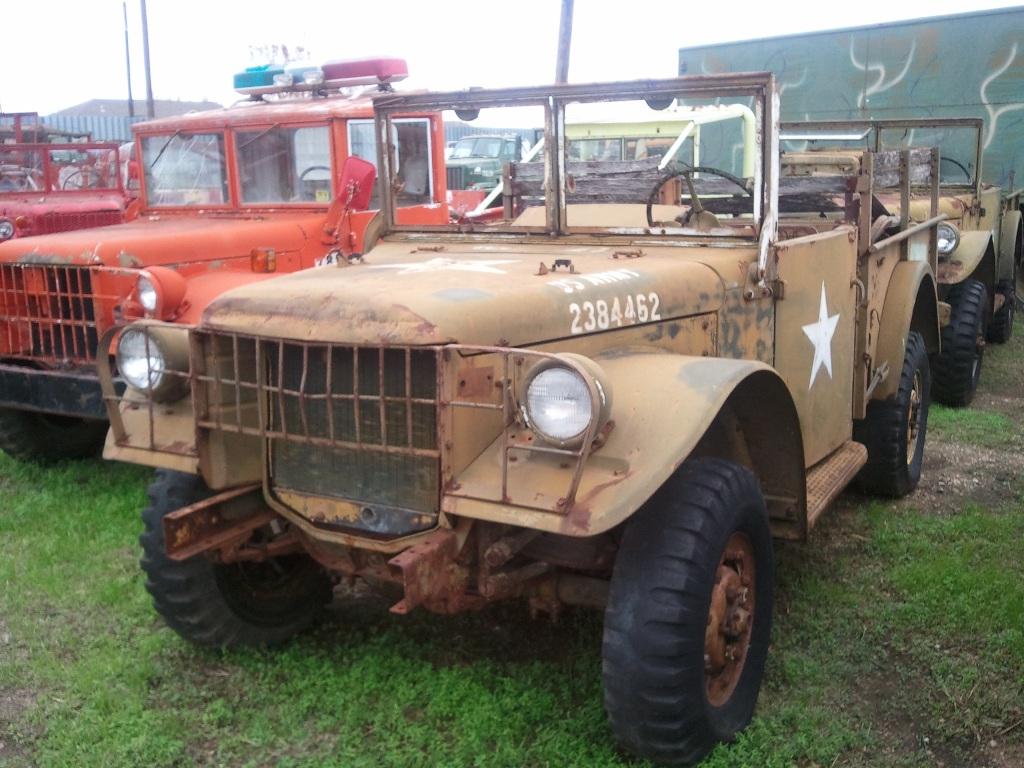 M 37 Military Dodges