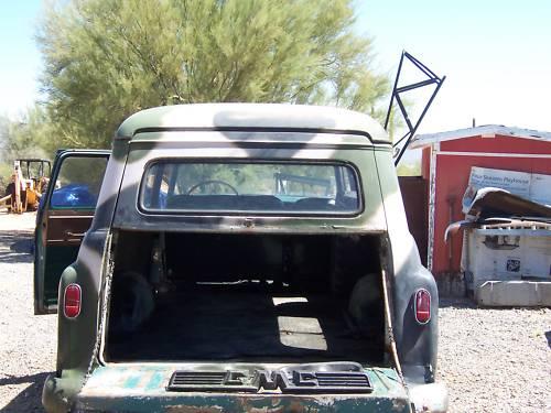 1959 Gmc Napco 4x4 4wd Suburban