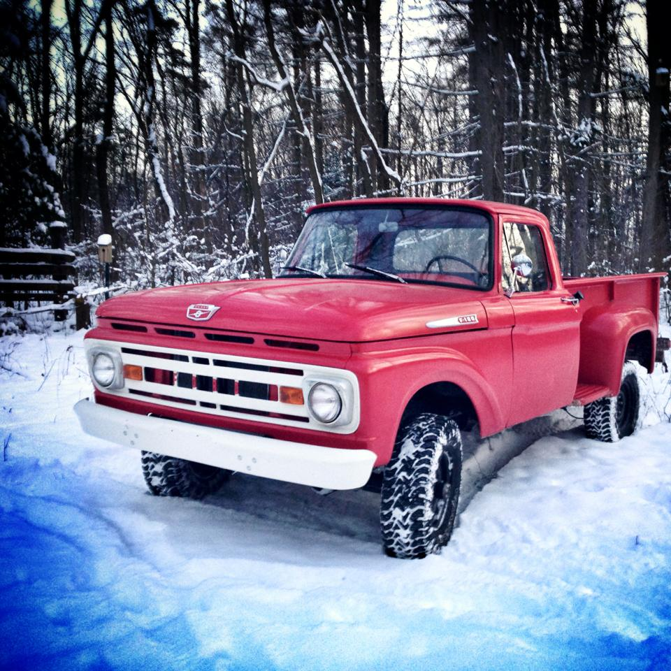 Ford Truck 4x4 Cool F With Awesome 1961 Dump
