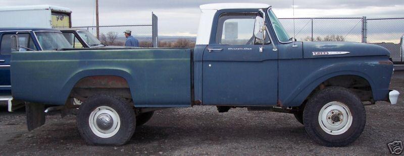 1962 Ford F 100 4x4 Pu