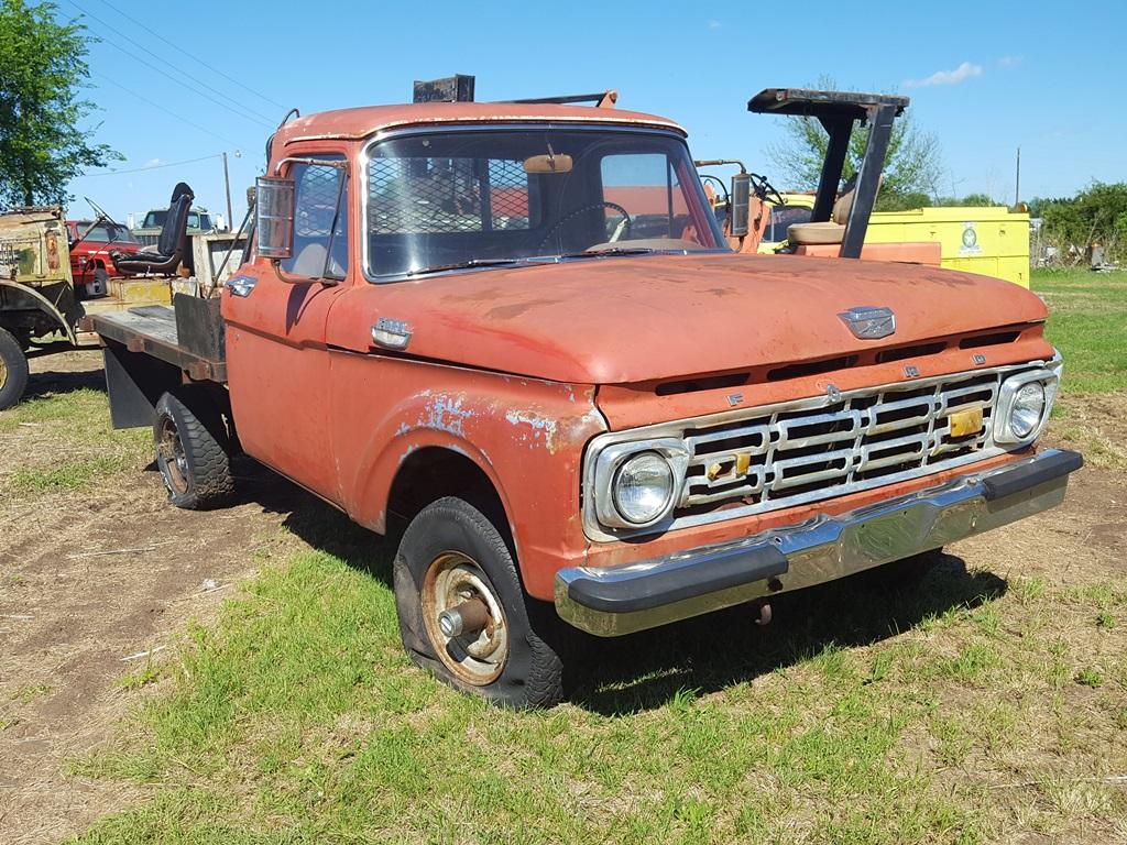 Ford 4wd Trucks 1964 F 250 Highboy 4x4 100 Hutchinson 3500