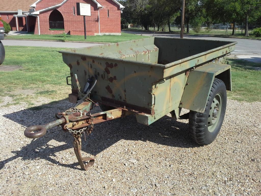 Jeep m416 trailer trailer