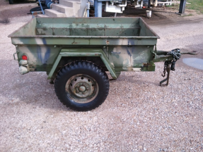 M416 Jeep Trailers
