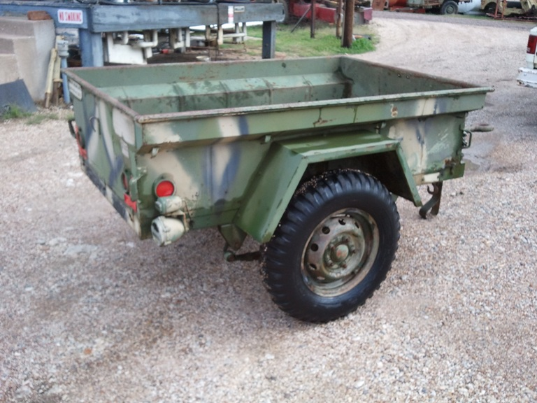 M416 military jeep trailer #5