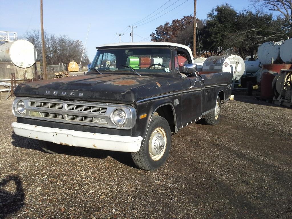 1971 Dodge D200 Dump Bed