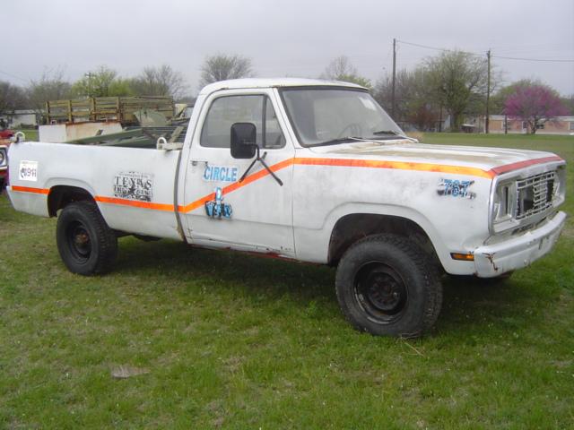 m880 dodge lufkin white 2005 - White Dodge Truck 2005