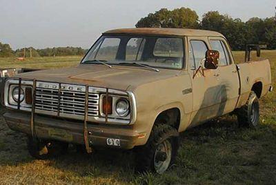 1978 W200 Dodge Power Wagon
