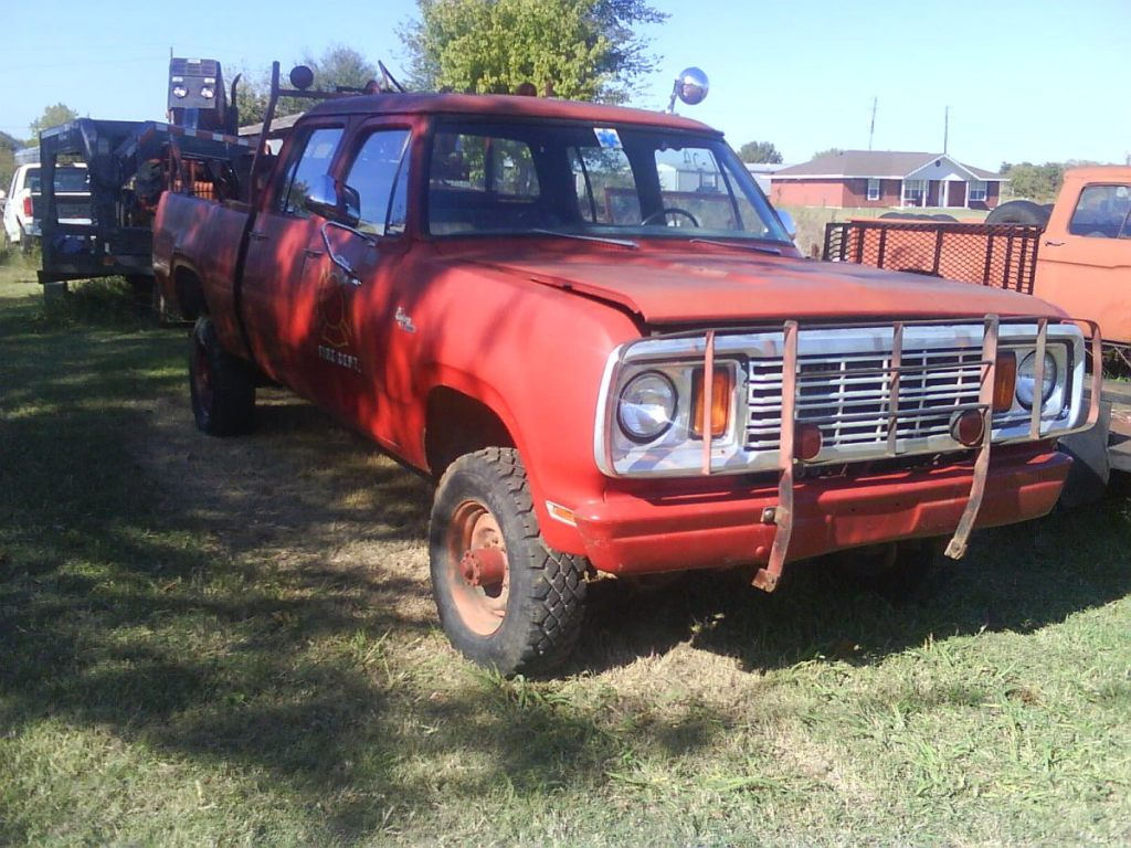 Crew Cab Dodge Power Wagon Page 1964 1978 W200 Tenkiller Sold