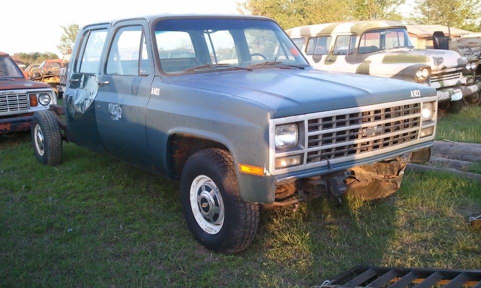 Chevrolet Crew Cabs