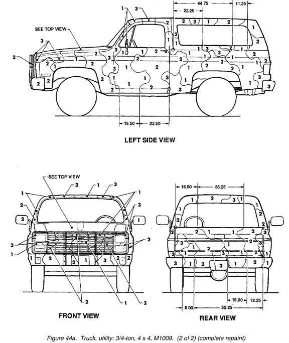 CUCV_Camo_Pattern_M1009_New_2 cucv wiring diagram 1984 cucv m1008 wiring diagram \u2022 wiring  at edmiracle.co