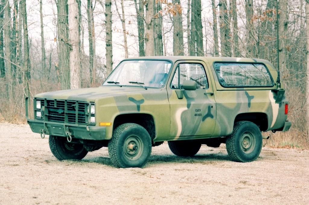 Chevrolet Cucv M1009 K5 Blazer Page