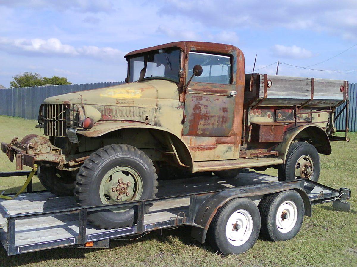 Sold Jeeps Trucks 1942 Dodge Power Wagon Craigslist
