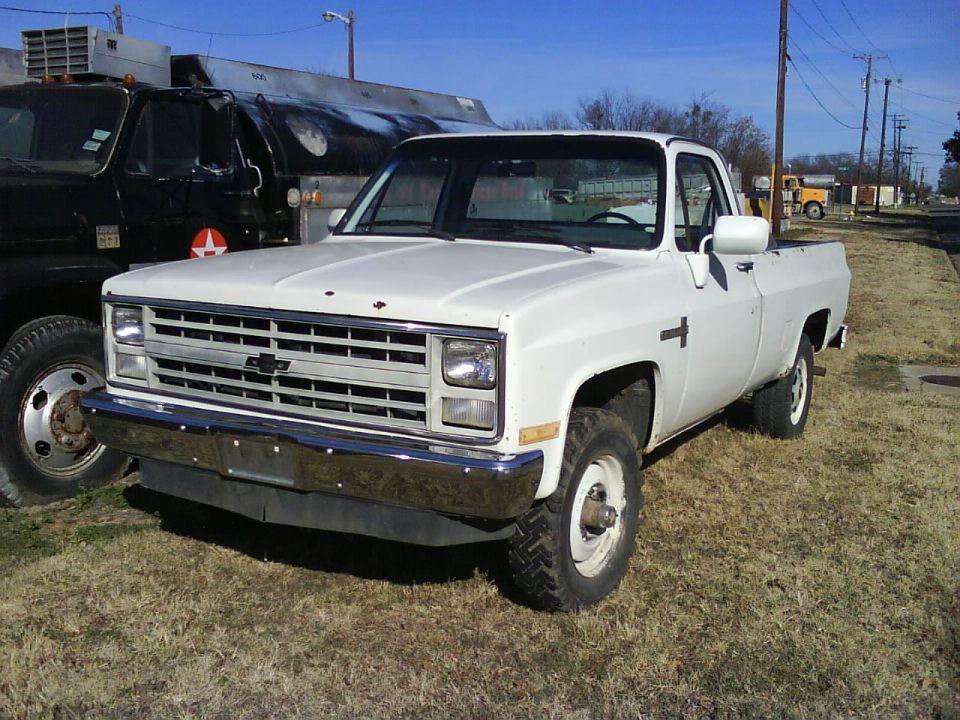 1985 chevy k20 submited images
