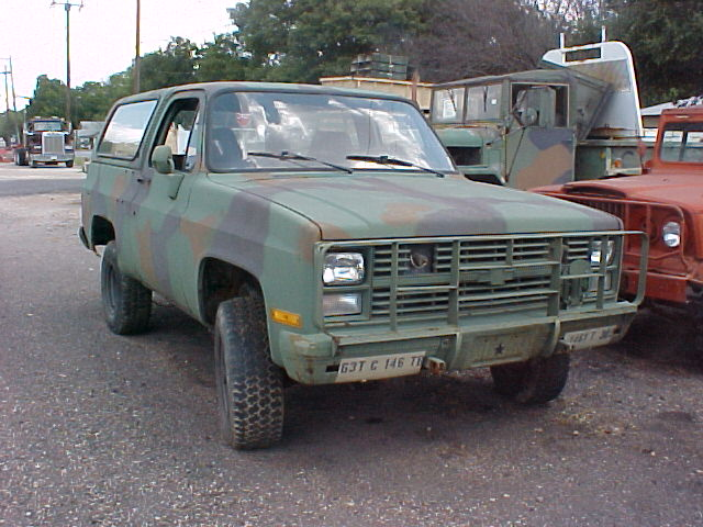 M1009 Military Cucv Chevrolet K5 Diesel Blazer 4x4 For .html | Autos Weblog