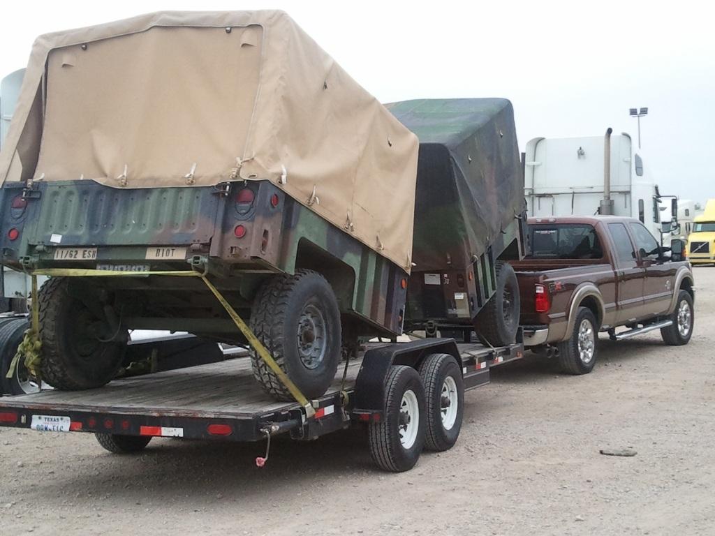 M1102 Cargo Trailer Humvee Hmmwv