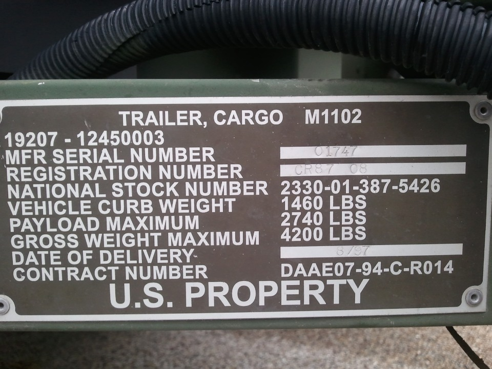 Military Jeeps For Sale >> M1102_Cargo-Trailer_No41_For-Sale_Texas