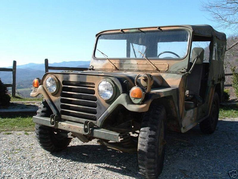 M151 - M151A2 Military Jeeps