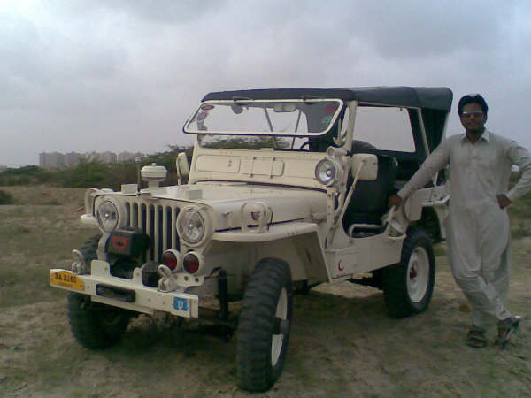 Willys Jeep Owner Shoaib Rajput From Karachi  Pakistan Not For Sale