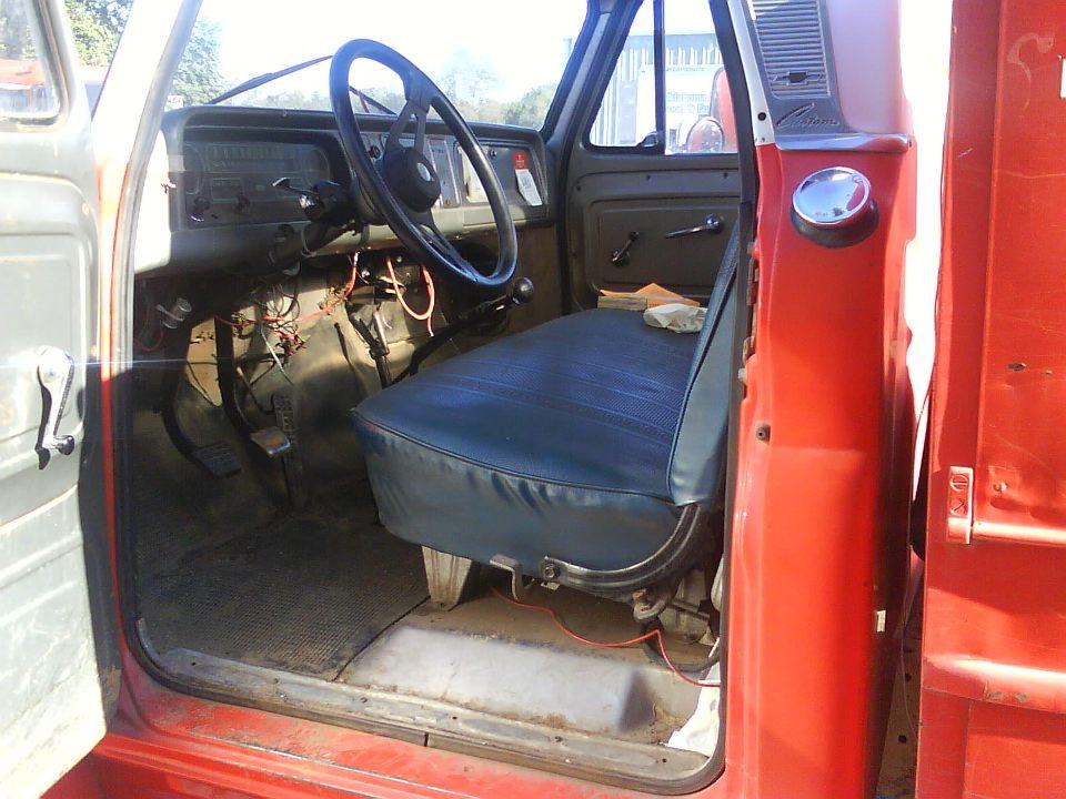 09111966ChevroletC60Fire Rescue Truck