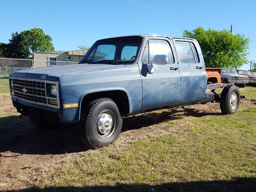 Chevrolet Crew Cabs 1991 Cab 1300 1989 C3500 3500