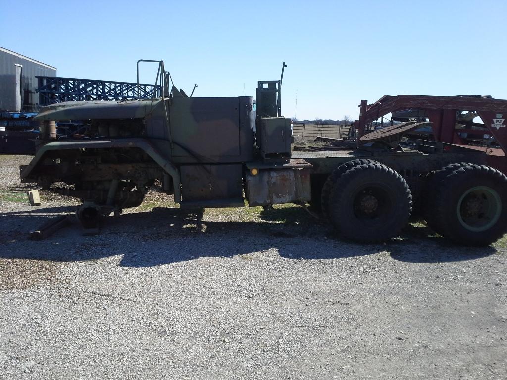 No136 M52a2 Parts Truck