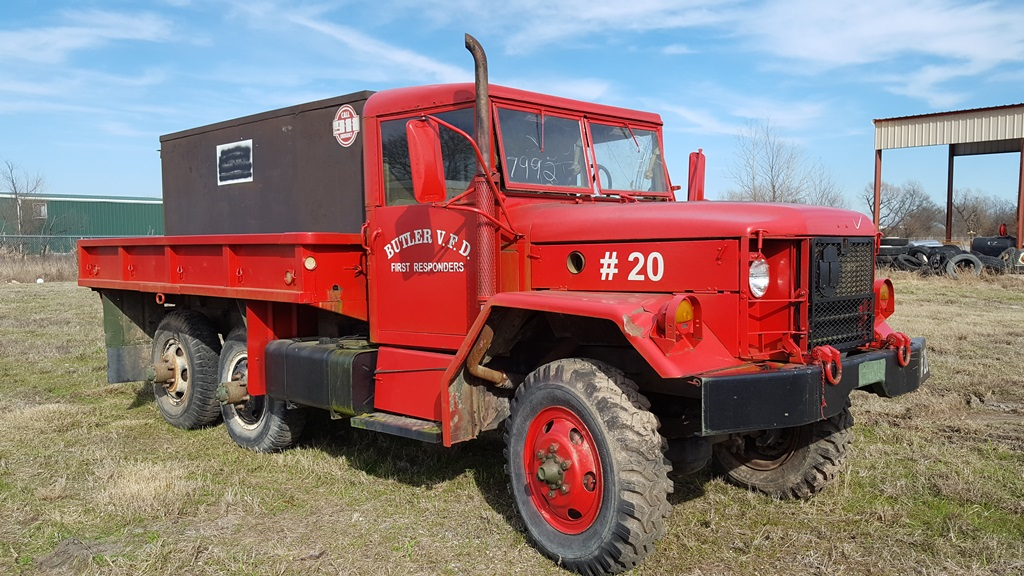 Brush Trucks For Sale >> No169_M35A2